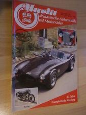 Oldtimer Markt, Heft 8/1985; AC Cobra; Borgward P 100; Rudge; VW Käfer Cabrio