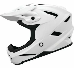 THH T-42 Solid MX Offroad Helmet White