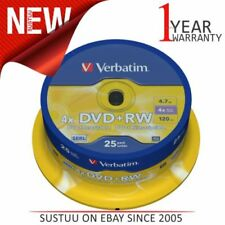 DVD-RW Verbatim, 25 Go