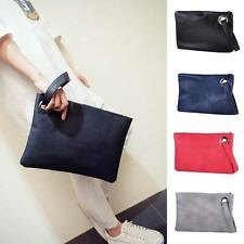 New Lady Women Fashion PU Clutch Envelope Handbag Tote Evening Purse Bag Wallet