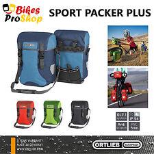 NEW 2017 ORTLIEB Sport (Front) Packer PLUS (Pair) Panniers QL2.1 IP54 WATERPROOF