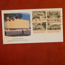 Estate Find FDC SEPT 30, 1982 ARCHITECTURE 20 CENT / 4 STAMP SET