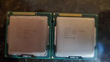 LOT (2) CPU - Intel Core i5 2400s  AND i3-2120 + 2x2gb PC3 Ram