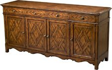 SCARBOROUGH HOUSE PARQUETRY SIDEBOARD  DISTRESSED HANDPLANED COUNTRY  BRAS