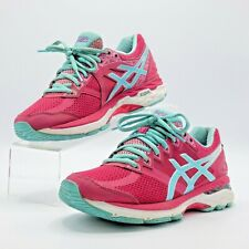 Asics GT-2000 4 Women's Running Shoes - Hot Pink / Aqua Blue / T656N / Size 7 M