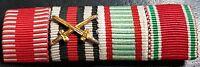 ✚7608✚ German Austria Hungary ribbon bar WW1 Karl Troop War Commemorative Medal