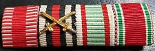 ✚7608✚ German Austria Hungary ribbon bar WW1 Karl Troop War Commemorative Medal