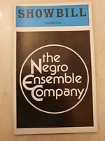 SHOWBILL THE NEGRO ENSEMBLE COMPANY SAMUEL L JACKSON MICHELE SHAY