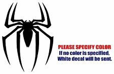 SPIDERMAN spider Funny Graphic Die Cut decal sticker Car Truck Boat Window 7""