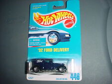 HOT WHEELS #446 '32 FORD DELIVERY WITH 7 SPOKE RIMS FREE USA SHIPPING