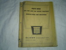 Oliver 950 990 995 Agricultural And Industrial Tractor Parts Book Catalog Manual