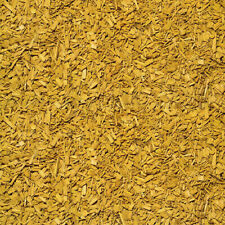 Wood Chip Garden Bark Mulch Yellow Colour(1/2litre)/(1/10 gallon) Decorative