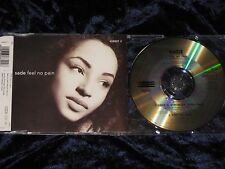 SADE ‎CD MAXI SINGLE Feel No Pain 1992 Epic ‎– 658829 2     EX/EX