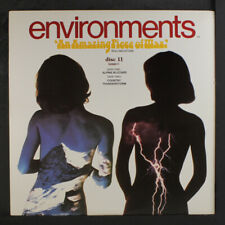 NO ARTIST: Environments Disc 11; Alpine Blizzard / Country Thunderstorm LP (in