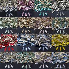 Top Czech Crystal Rhinestone Drop Raindrop Flatback Nail Art Decoration 3x10mm