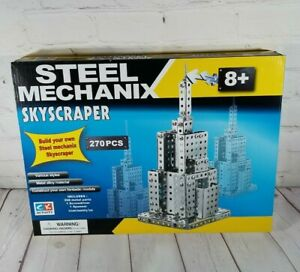Steel Mechanix SKYSCRAPER 270 Pc. CK Activity Model Kit Mechanics Young Engineer