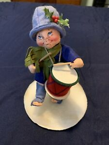 Annalee Doll 1989 Little Drummer Boy Holiday Christmas Figure - See Photos