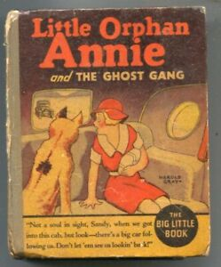 Little Orphan Annie and  The Ghost Gang #1154 1935-by Harold Gorey-newspaper ...