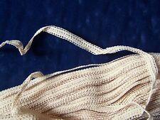 lacet écru ancien pour dentelle - LIN