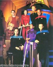 """Colm Meaney Colour 10""""x 8"""" Signed Paramount 'Star Trek' DS9 Promo - UACC RD223"""