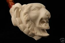 Tiger in an Eagle's Claw Made by I Baglan Block Meerschaum Pipe in a case 5984