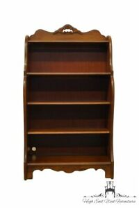 """STANLEY FURNITURE Cherry Country French 32"""" Petite Accent Bookcase 102-14-13"""