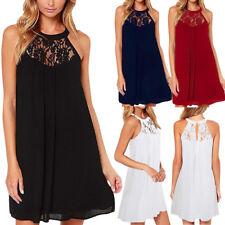 New Women's Sleeveless Dresses Bodycon Evening Party Cocktail Short Mini Dress