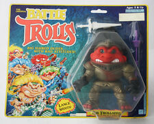 Vintage 1993 Original Battle Trolls Sir Trollahad Hasbro New Mosc !