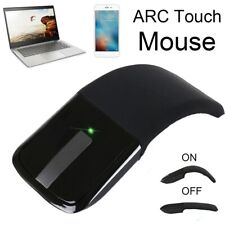 Foldable Wireless Ergonomic Arc Touch Slim Mouse For Microsoft Surface PC Laptop
