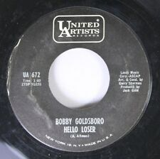 Rock 45 Bobby Goldsboro - Hello Loser / See The Funny Little Clown On United Art