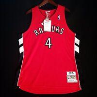 100% Authentic Chris Bosh Mitchell Ness Raptors Jersey Mens Size 48 XL - carter
