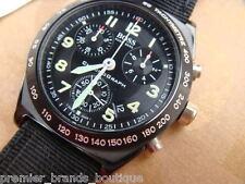 Reloj Cronógrafo nuevo HUGO BOSS para hombres hecho en Suiza piloto MONACO Navitimer Ostra
