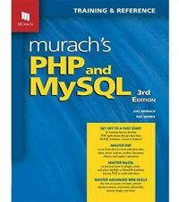 Murach's Php and MySql. College textbook 3rd Ed. (Paperback) Preowned but unused