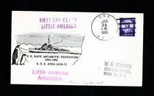"""US Cover First Day stamp """"Little America Navy Antarctic Exped"""