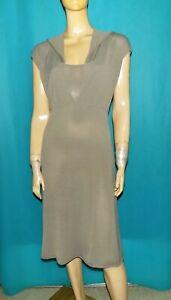SARAH PACINI robe longue marron taille 38