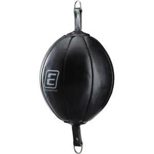 Energetics Doppelend Punching Ball schwarz Leder 66795 mit Gummiseil