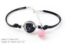 Bouvier. Bracelet for people who love dogs. Photojewelry. Handmade. USA