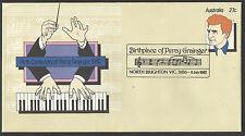 AUSTRALIA 1982 PERCY GRAINGER Composer MUSIC PSE NORTH BRIGHTON Birthplace F.Day