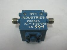 RYT Microwave RF Isolator 200023  10-13 GHz  SMA