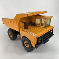 VTG 1971-73 Tonka Toys Mighty Orange Hydraulic Dump Truck