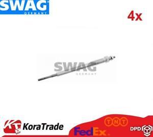 4x SWAG 81926112 DIESEL HEATER GLOW PLUG