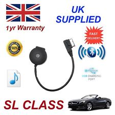 para Mercedes Clase SL STREAMING BLUETOOTH CARGA USB & Stick Cable mb-mmi-bt001