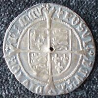 1526-44 Henry VIII Groat  - 2nd Coinage - MM LYS