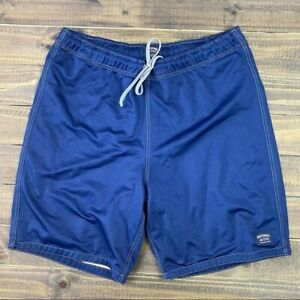 Abercrombie & Fitch Gym Issue Blue Athletic Drawstring Shorts Size Small