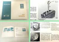 Betriebsanleitung Mercedes Benz 240GD G-Klasse 460 OM616 Bedienung Wartung 1979