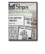 WWI Newspaper Stars & Stripes all 71 Issues World War I on CD - B109