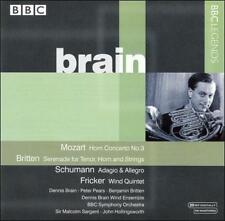 Dennis Brain Plays Mozart, Britten, Schumann & Fricker, New Music