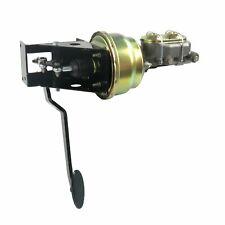 Universal 90 Deg FW 7� Dual Brake Pedal kit Drum/Drum~Sm Oval Blk Pad rat