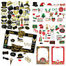 2021 New Year Christmas Party Props Frame Photo Booth Selfie Favor Decor