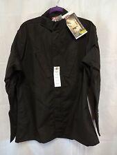 NEW Tru-Spec Tactical Response Uniform Shirt Black ML Med Long Police Military